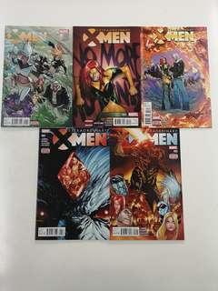 Extraordinary X-Men (2015) X-Haven Comics Set
