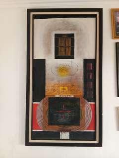 LUKISAN KA'BAH Abstrak