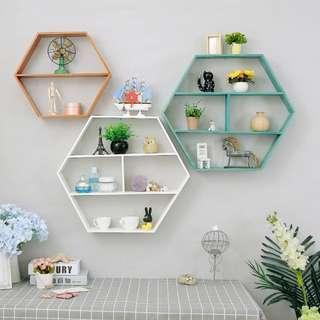 Wall Decoration Hexagon Shape