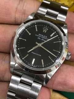Rolex Air King 14000M With Box and Booklet & Tag