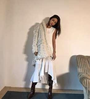 🚚 正韓荷葉邊層次洋裝