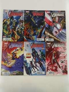 All New All Different Avengers (2015) The Magnificent Seven Comics Set