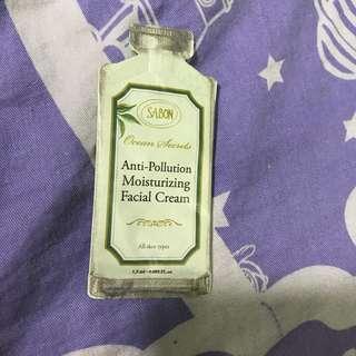 Sabon anti pollution moisturizing facial cream