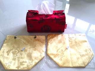 BNIB tissue box cover