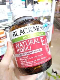 Blackmores 天然VE膠囊❤️🇦🇺澳洲藥房最暢銷純天然維生素E🌷每粒富含Ve1000IU,抗氧化和抗衰老性能數十倍於國內合成的維E🙆🏻更容易被人體吸收利用🙆🏻🌷純天然安全性高👍孕婦服用可以增加皮膚彈性,變年輕的同時還可以有效預防妊娠紋,每天一粒,可以長期服用。❤️🍀搭配Vc效果更佳[玫瑰]適合所有人羣🌻😇