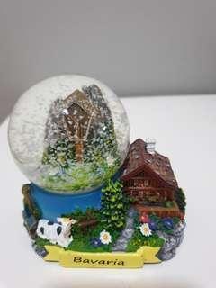 Bavaria snow globe