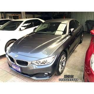 BMW寶馬2014年420i Sport 總代理 雙門跑車