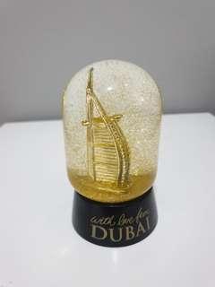 Dubai snow globe