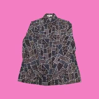 🚚 古著花襯衫(日本製)