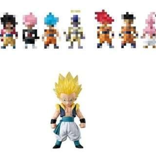 全新 Dragon Ball DB Z Adverge SP 2 02 龍珠 Z 超 食玩 盒蛋 超西 超級 撒亞人 悟天格斯 1 盒