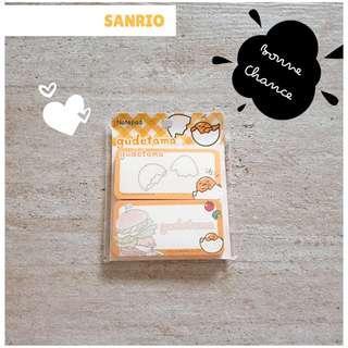 🚚 Sanrio notepad