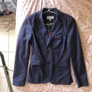 Brand New ESPRIT Jacket Blue Fun Professional With Buttons
