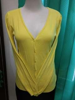 Cardigan Yellow Lemon