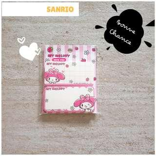 🚚 Sanrio noted pad