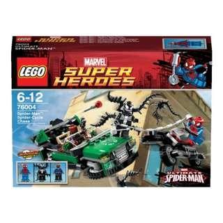LEGO 76004 Spider Man, Nick Fury, Venom