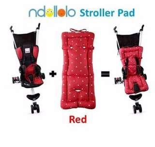 Ndollolo Stroller Pad - Red