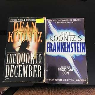 Preloved Dean Koontz horror suspense