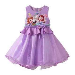 Princess Sophia purple dress