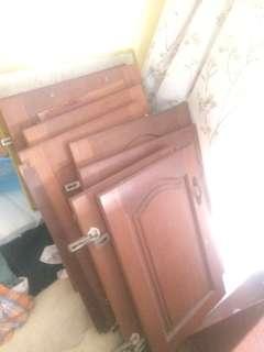 Wooden cabinets doors