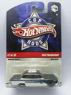 Hot Wheels Cop Rods Ford Thunderbolt