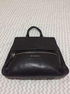 Authentic Givenchy Pandora Pure Small Black/ Silver HW