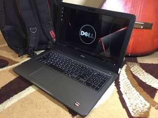 Dell Insp 5565 AMD A12 7th Gen Ram 8GB R7 Graphics Backlit Key