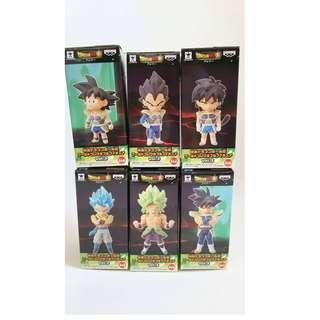 Dragon Ball Super Broly Volume 3 WCF World Collectables Figure Heroes Diorama