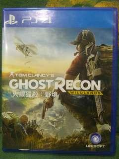 PS4/二手/玩過出售/GHOST RECON 火線獵殺:野境 $600