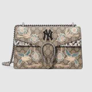 Gucci Dionysus small shoulder bag with NY Yankees™ patch