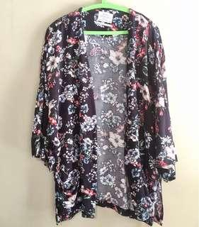 Bershka floral outer