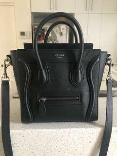 Celine nano bag - black