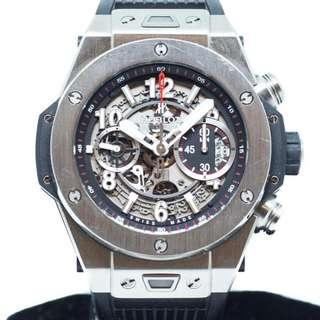 Preowned Hublot Big bang Unico Titanium Ref: 411.NX.1170.RX