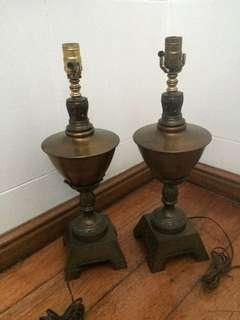 Set table lamps