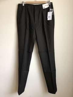 NEW UNIQLO U Men 100% Wool Pleated Pants, 82cm