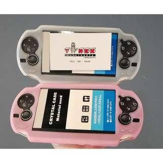 PSV CRYSTAL CASE (CLEAR BLACK / CLEAR PINK )