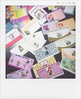 Kertas surat vintage / writing paper with envelope set