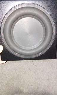 REL Q200E 10 INCHES ACTIVE SUBWOOFER