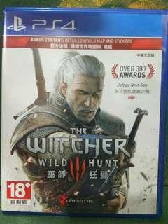 PS4/二手/玩過出售/THE WITCHER 3 巫師3:獵殺$700