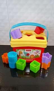 Fisher Price Toy Baby's First Block