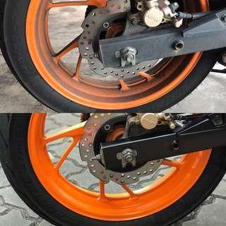 🔥 Bike Ceramic Coating (Premium)
