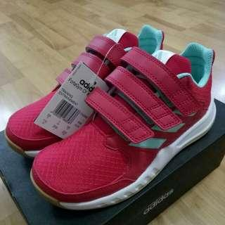 6786c740c1c0 🔥UK1 2🔥 Adidas FortaGym CF Kids Girls Children Red Pink Shoes