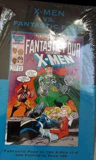 Fantastic Four Vs. The X- Men