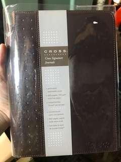 Cross 皮革 筆記本 筆記簿 notebook 連筆 高檔文具 禮物