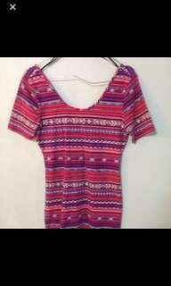 dress tribal/aztec forever21