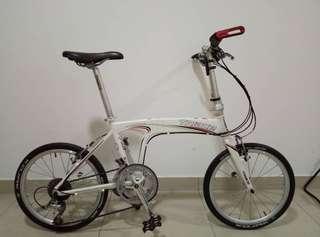 Folding Bike 10 Speed
