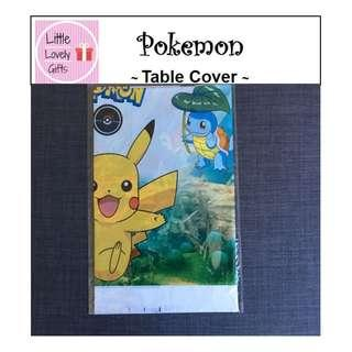Pokemon Table Cover (Free Normal Mail)