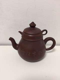 Old Chinese Yixing Double Layer Zisha TeaPot 旧中国宜兴双层紫砂茶壶