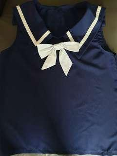 Sailor Top for Girls