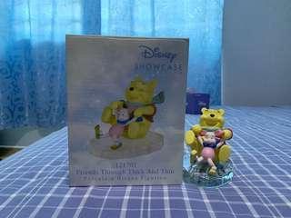 🚚 Precious Moments Disney Winnie & Piglet Figurines