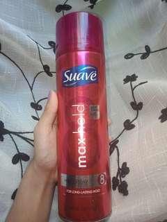 Suave hair spray